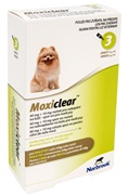 Moxiclear 40+10mg S.O. pes malý do 4kg a.u.v. 3x0,4 ml